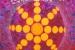 "005 ""Energy Mandala"", 2000, 120 x 120 cm, Acrylic on canvas"