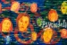 """011 """"Electric Orgasm"""", 2001, 146 x 400 cm, Acrylic on canvas"""