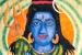 "016 ""Shiva"", 2002, 146 x 146 cm, Acrylic on canvas"