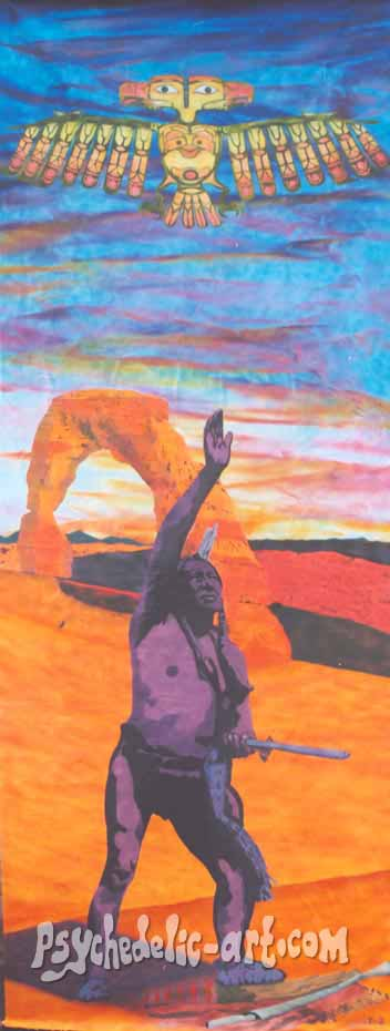 "020 ""Delicate Arch"", 2002, 400 x 146 cm, Acrylic on canvas"