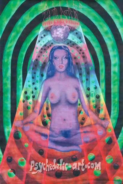 "021 ""Sahasrara"", 2002, 200 x 146 cm, Acrylic on canvas"