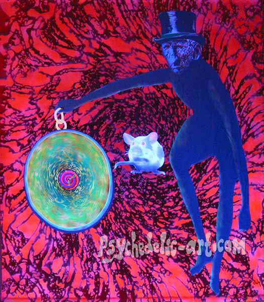 "041 ""Vortex of the Humdrum-drum"", 2004, 167cm x 146cm, Acrylic on canvas."