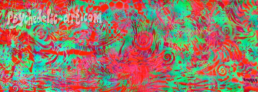 "045 ""Haadrin 1993"", 2004, 44cm x 126cm, Acrylic on canvas."