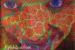 "055 ""psychedelic pussycat 1 (fractal fraulein)"", 2004, 130cm x 165cm, Acrylic on canvas."