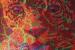 "056 ""psychedelic pussycat 2 (fractal feline)"", 2004, 130cm x 165cm, Acrylic on canvas."
