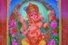 """091 """"Vighnakartá - Vignahartá"""", 2007, 220 x 161cm, Acrylic on canvas"""